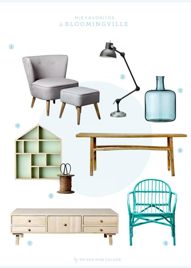 Bloomingville decoraci n y muebles n rdicos inspiradores for Muebles nordicos online