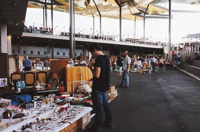 Els encants de barcelona y sus tesoros vintage de siempre - Mercadillo antiguedades ...