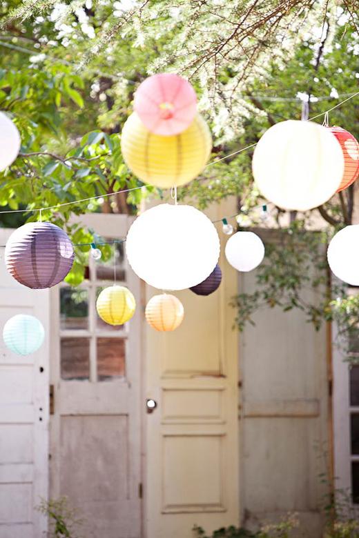 Como decorar una fiesta en el jard n mr and miss colors - Como decorar el jardin ...